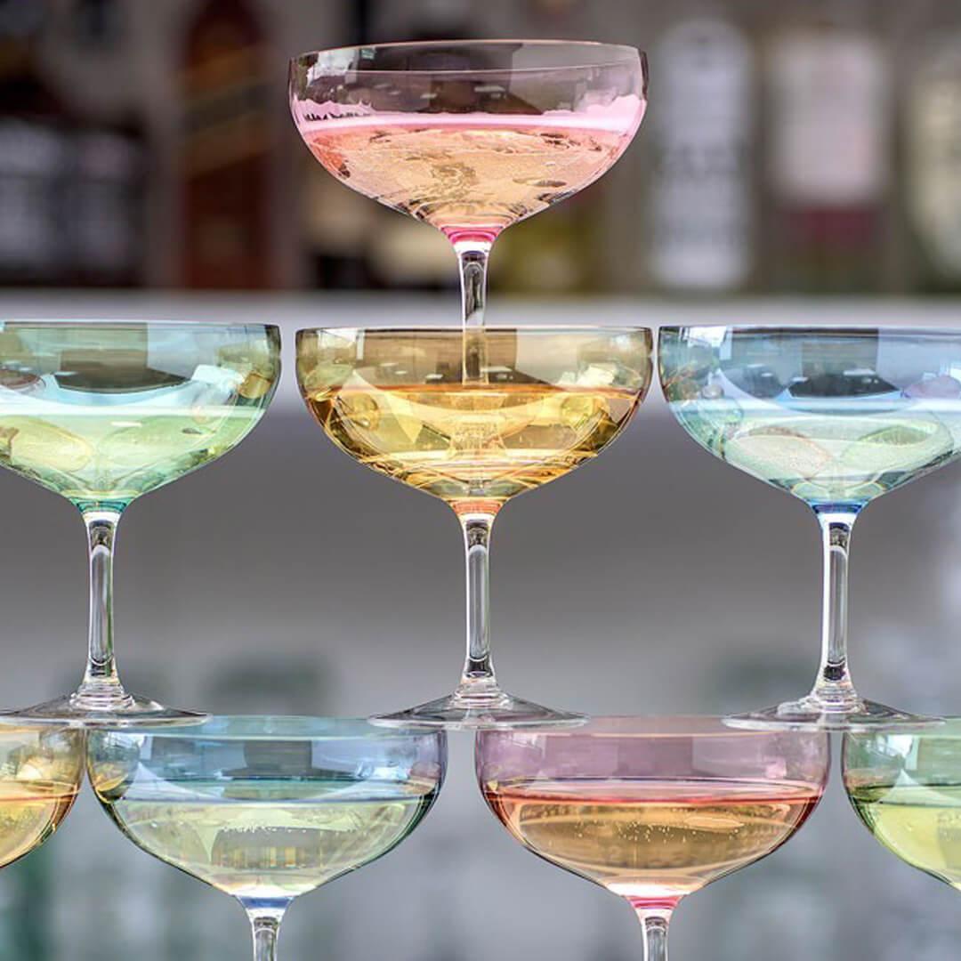 Happy champangeglass