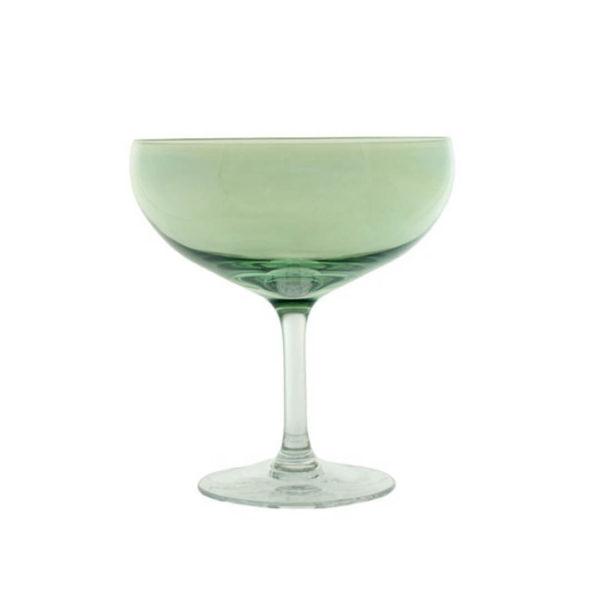 Happy champangeglass grønn