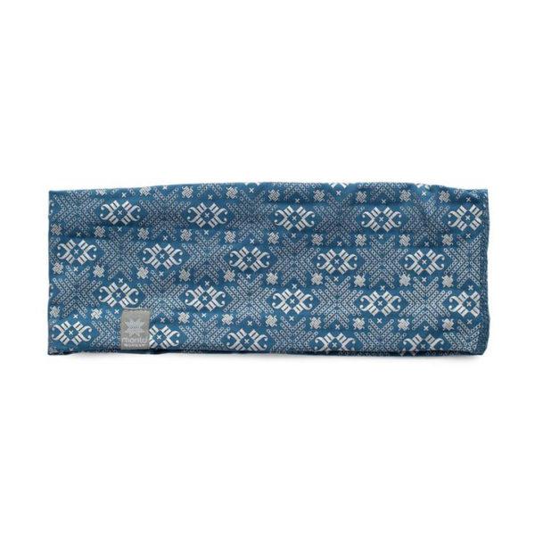 Morild pannebånd blå