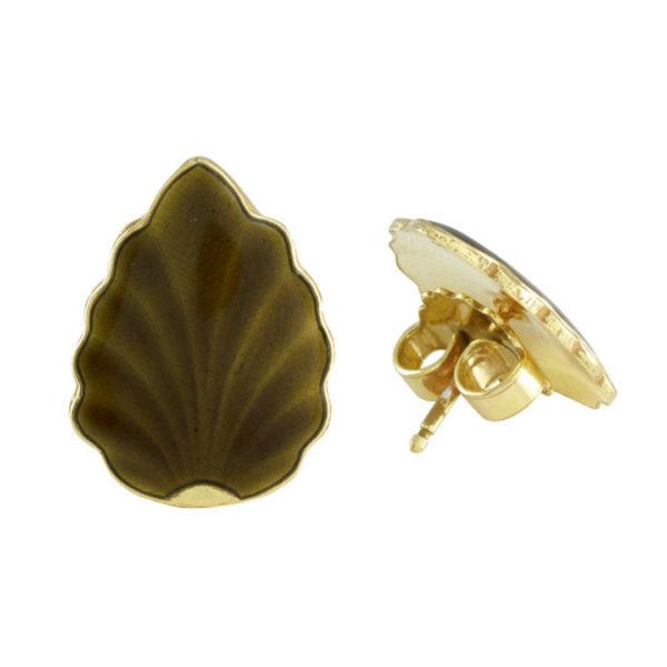 Opro the leaf øredobber
