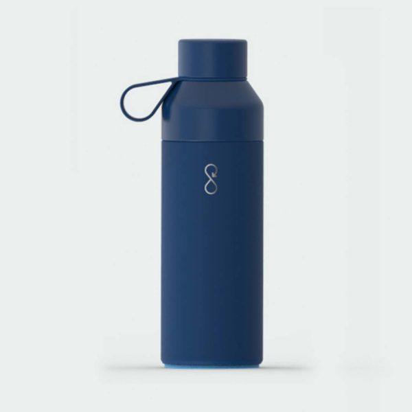 Ocean bottle marineblå