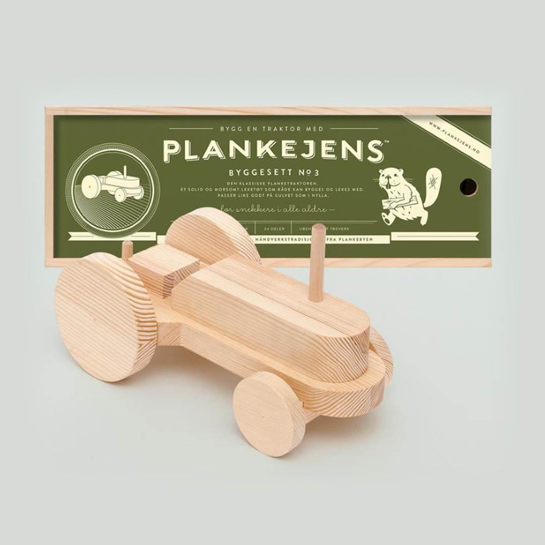 Plankejens traktor